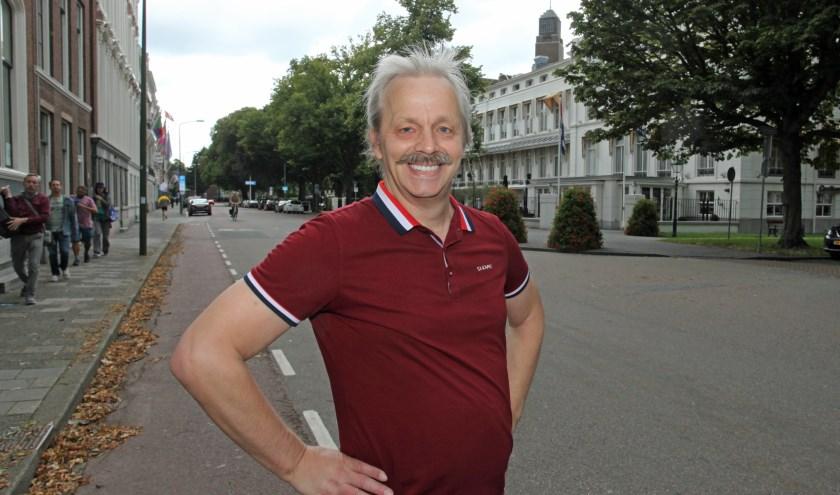 Dirk vindt de bureaucratie in Den Haag soms schokkend.(Foto: Peter van Zetten).
