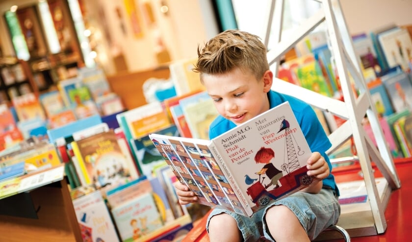<p>Kinderboekenweek in de bibliotheek</p>