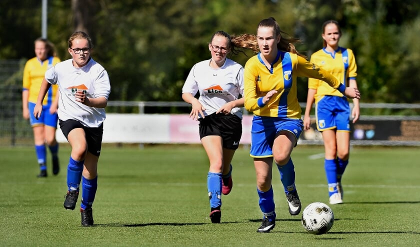 Aan het vrouwentoernooi van de Achterhoek doen dit seizoen twintig teams mee. (Archieffoto: Roel Kleinpenning)