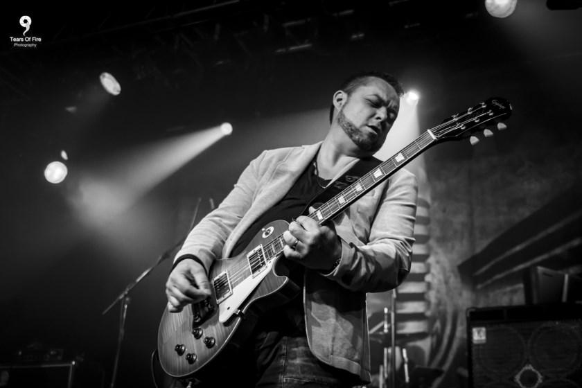 Sean Webster brengt blues in Kasteel van Rhoon.