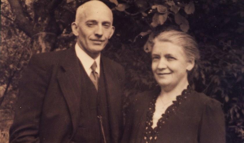 Verzetsleider Roelof Blokzijl en zijn vrouw. De liquidatie van Blokzijl zou later deze maand aan bod komen in de expositie.