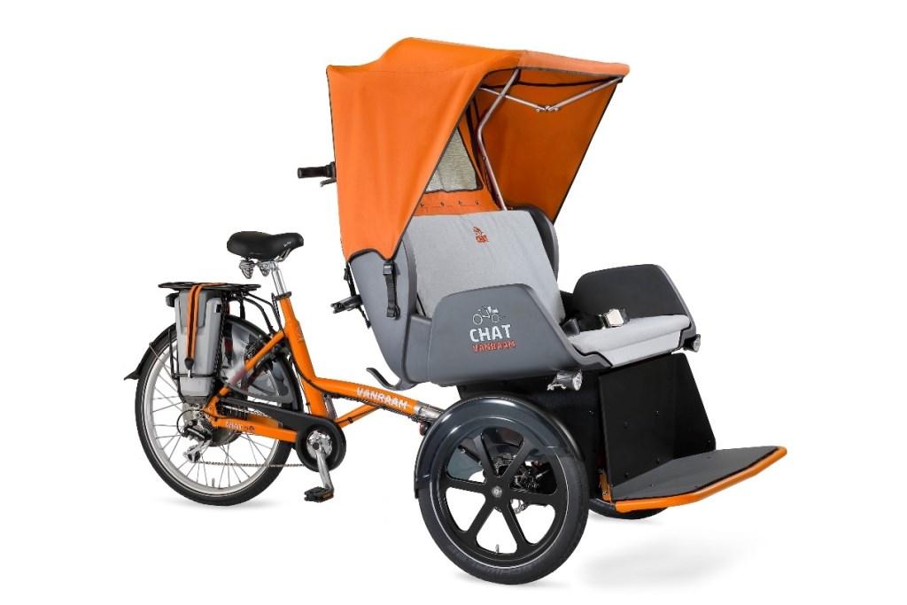 Van Raam 'Chat' riskja fiets.  © DPG Media