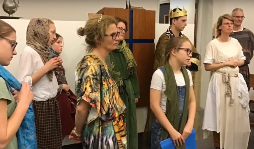 Repetitieavond musical Naäman voorjaar 2019