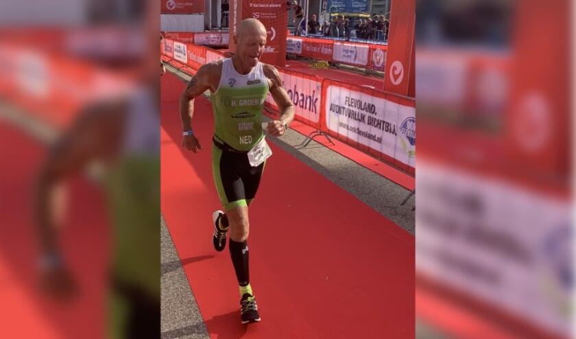 Enschedeër Gerrit Jan Soetman wil zich kwalificeren voor de Ironman Hawaii. (Eigen foto)