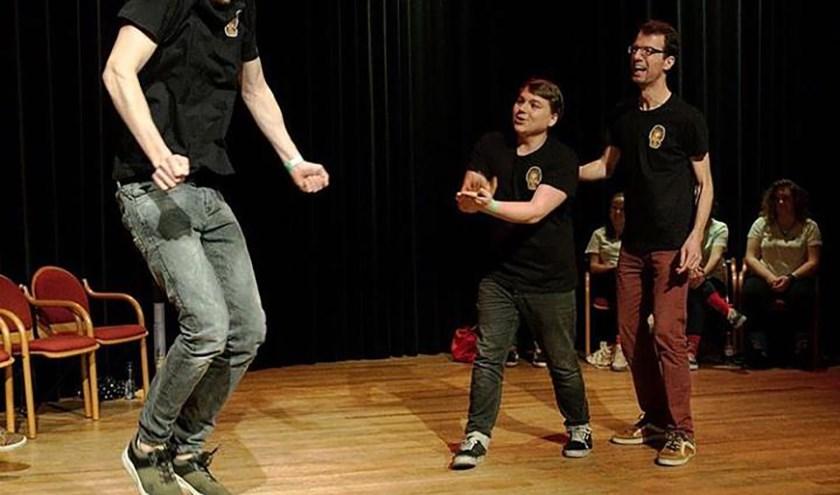 Vanaf 22 januari start in de Piekschool de nieuwe cursus theatersport van Liever Veul Bloemen.