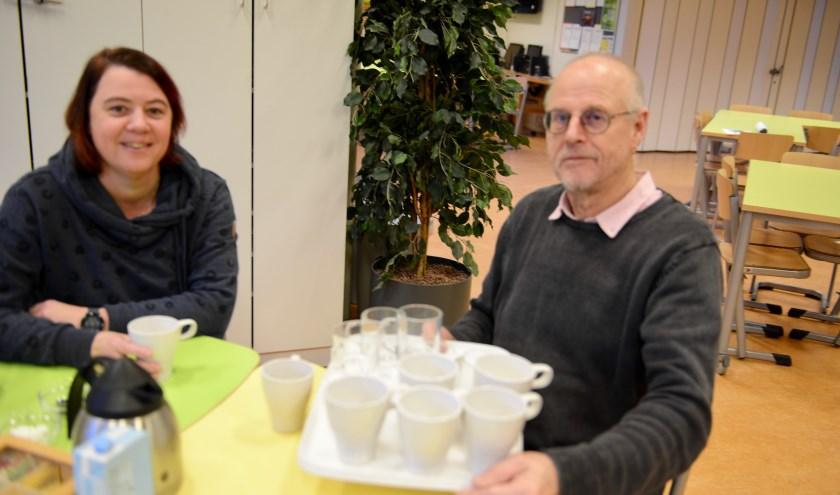 Eens in de maand op woensdag rond 12.00 uur worden ouders van twee groepen uitgenodigd voor de koffie bij directeur Willem Snel