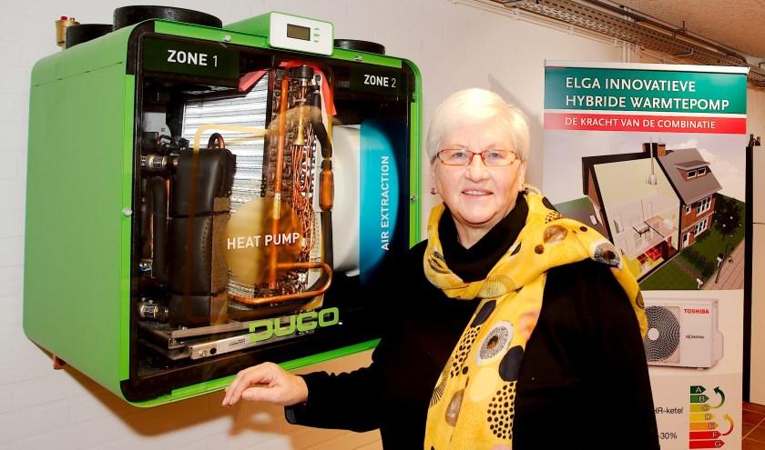 Ineke van Vuuren is energiecoach sinds 2017. Eind januari start Energiek Apeldoorn weer met gratis energiecoach trainingen. (foto Gert Perdon)