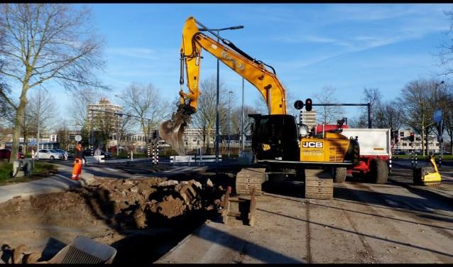 Werkzaamheden Westpunt Foto en video: Roel van Deursen © DPG Media