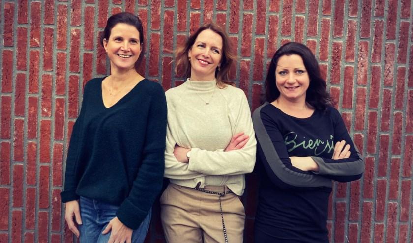 V.l.n.r.  Gusta van de Ven, Wendy Swinkels  en Marjolein Kluijtmans kwamen met het idee voor Special Starz.