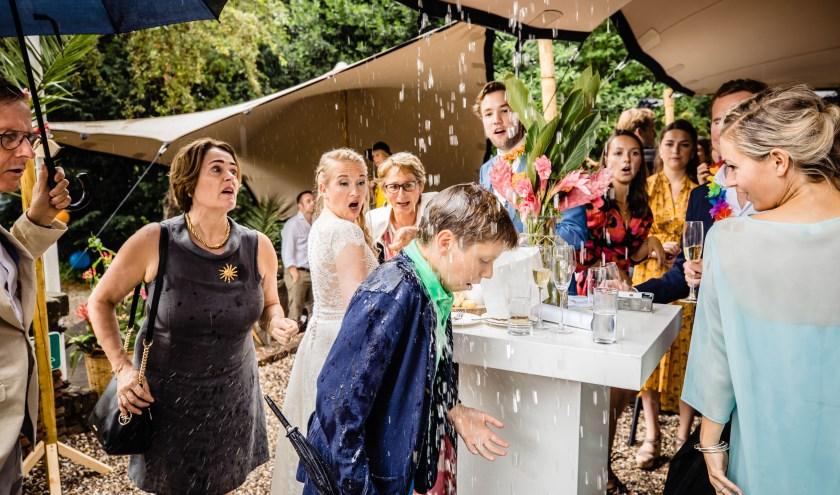De genomineerde foto van Freek Nagtzaam in de categorie 'Bruidskinderen'