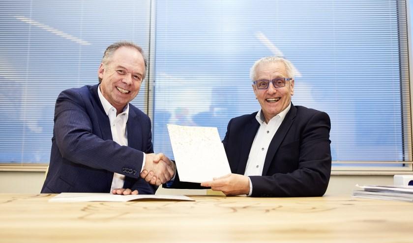 Jan Helmond (FWG) en Tof Thissen (UWV)  zetten zich in voor inclusief werkgeverschap