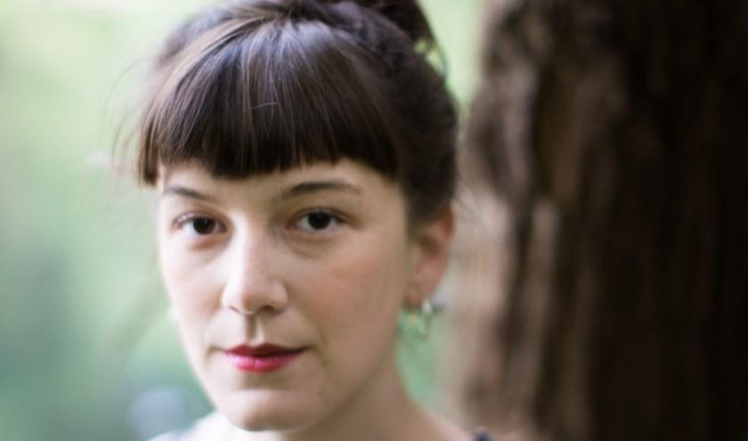 De Vlaamse dichter Charlotte van den Broeck