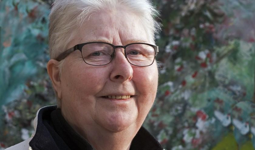 Marleen Wuyts is net herstellende van de kanker die haar voor de tweede keer trof. (foto Auke Pluim)