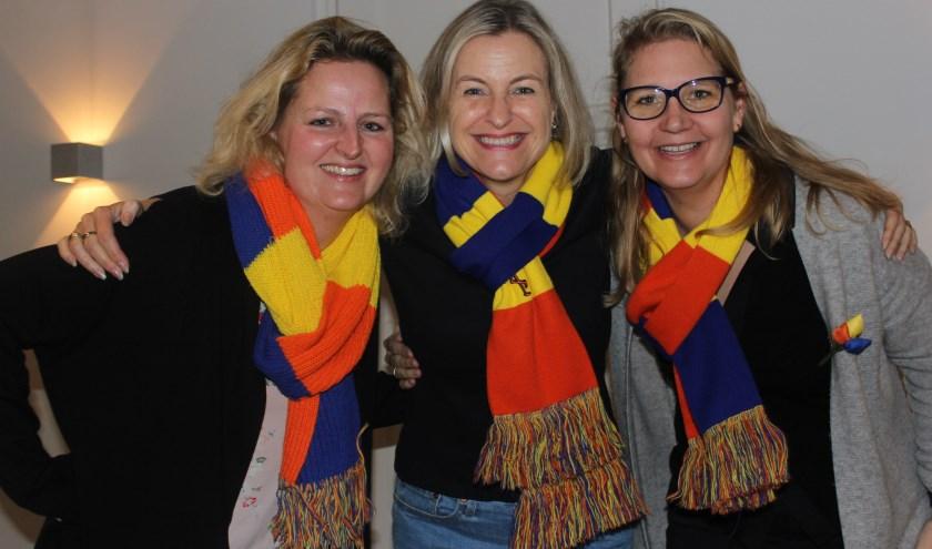 Met meer dames dan heren in de ton, domineren zij dit jaar De Krabberklets in Den Dungen. Foto: Wendy van Lijssel