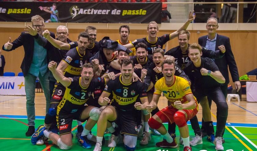 Draisma Dynamo na de halve finale in Doetinchem