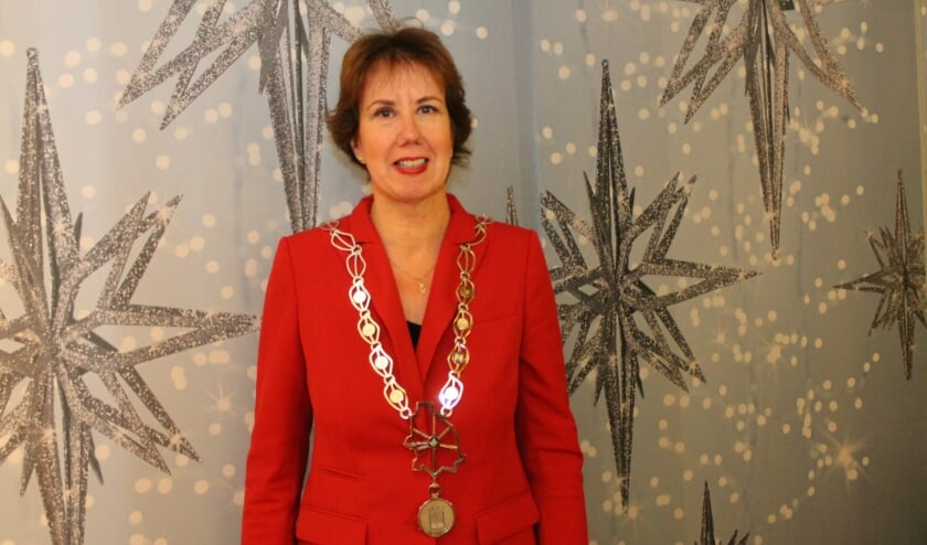 <p>Burgemeester Margo Mulder.</p>