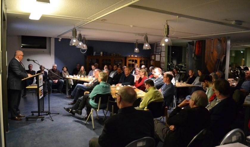 Vorig jaar heette burgemeester Arco Hofland de nieuwe inwoners van Rijssen van harte welkom in hun nieuwe woonplaats op de burgeravond in het Rijssens Museum.