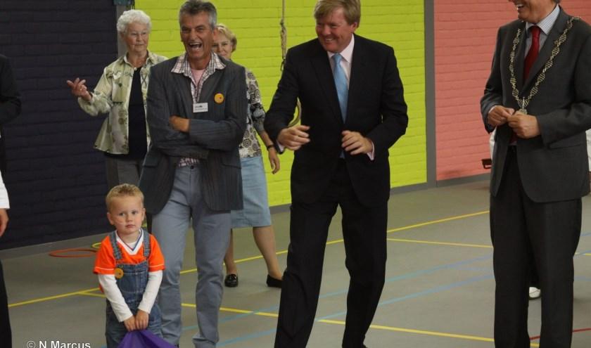 Bezoek beschermheer Oranje Fonds 2012. (foto: Nico Marcus)