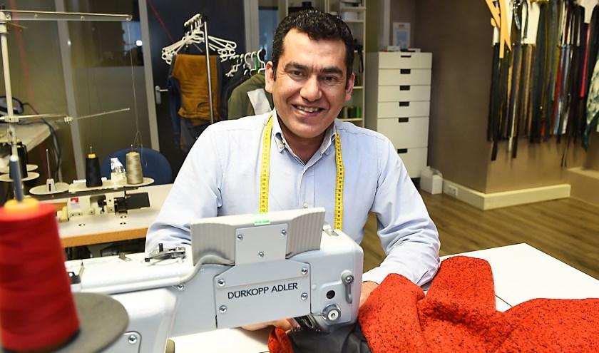 Ondernemer van de week: Abdel Alkader Ibrahim. (foto: Roel Kleinpenning)