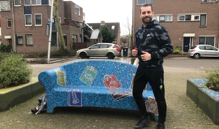 Johan Rensen, ken jij deze van oorsprong Haagse jongen in Zoetermeer al? Hij is super sportief, kan zingen én gaat de 1e 1/2 marathon van Zoetermeer lopen voor 2 goede doelen op 19-1. Foto: Simone Langeveld