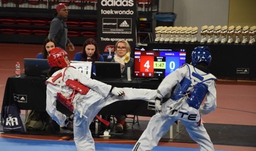 Vooral de topsporters van Abdelkwan kunnen veel baat hebben bij een combat center, verwacht de taekwondovereniging.