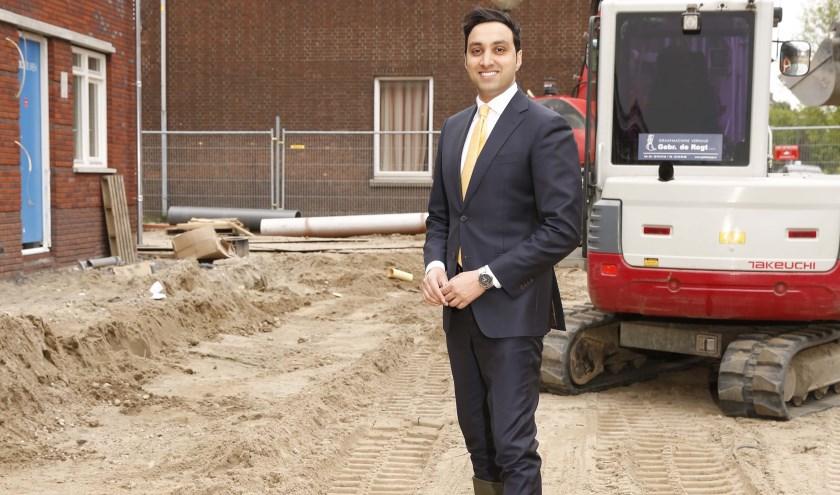 Wethouder Fahid Minhas kreeg opvallend genoeg stemmen uit heel Nederland! (Foto: Petra van der Veer)