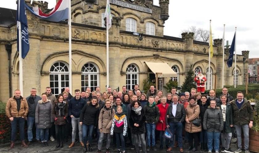 Het personeel van DJS Hekwerken genoot op 3 en 4 januari van de Limburgse gastvrijheid in Valkenburg.