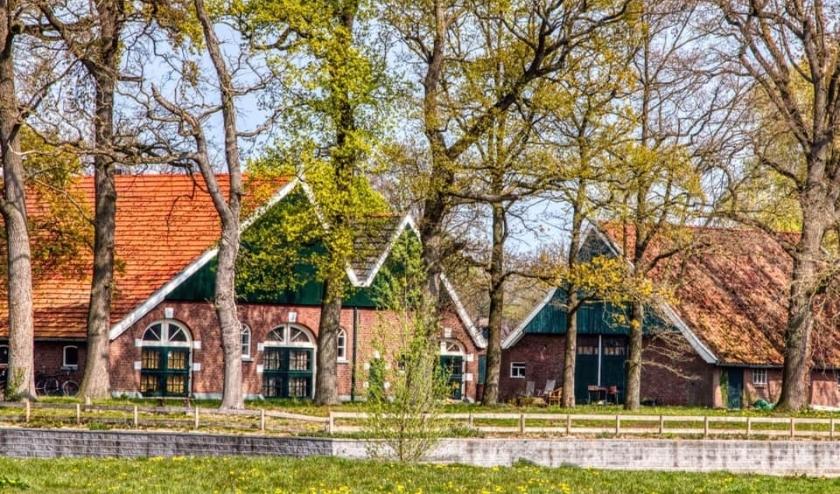 Boerderij Laerhuys aan de Bruinsweg.