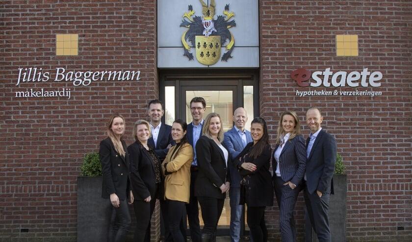 <p>Het Team van Jillis Baggerman Makelaardij. (foto: Arjan van Bruggen)</p>