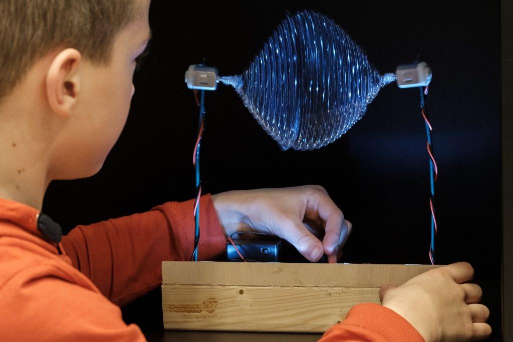 Lichtmachine Foto: Bibliotheek Veenendaal © DPG Media