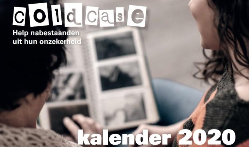 De cover van de coldcasekalender 2020 die onlangs is verschenen. (foto: Politie)