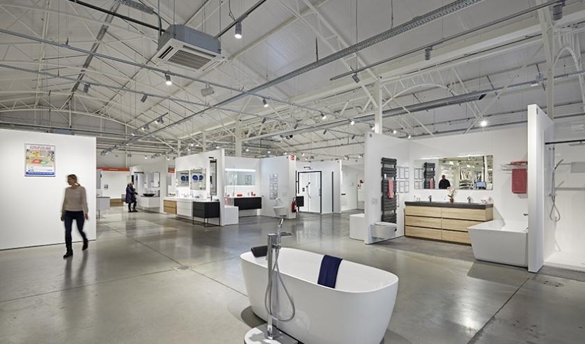 X²O Badkamers opent op 15 juni een showroom op de Utrechtse Woonboulevard.