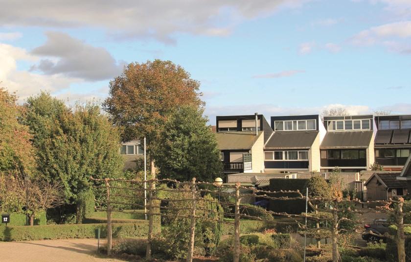 Mosterdhof in Westervoort is een experimentele woningbouwwijk uit de jaren 70.