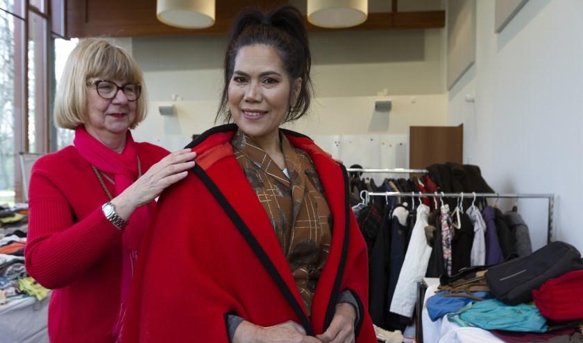 Op Haagse Vrouwendag mogen vrouwen een outfit kiezen.