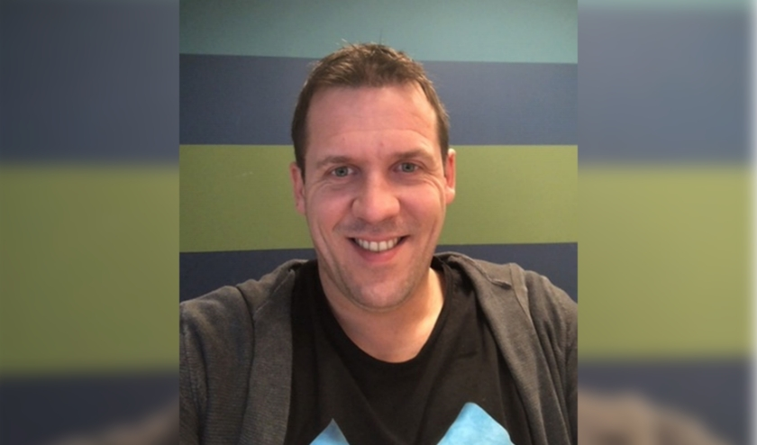 Sander Bosch, trainer van DVS.