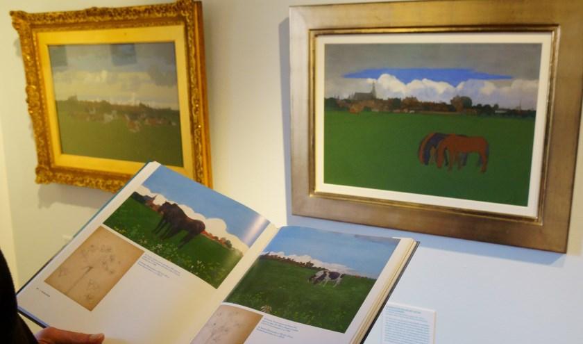 De expositie en het boek besteden ruimschoots aandacht aan de 'Nabis-periode' van Jan Voerman senior. (foto: Voerman Museum Hattem)