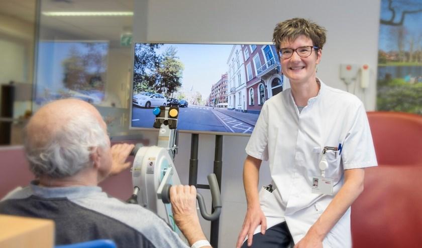 Onderzoek effect fietslabyrint op herstel oudere patiënten van Gelre ziekenhuizen