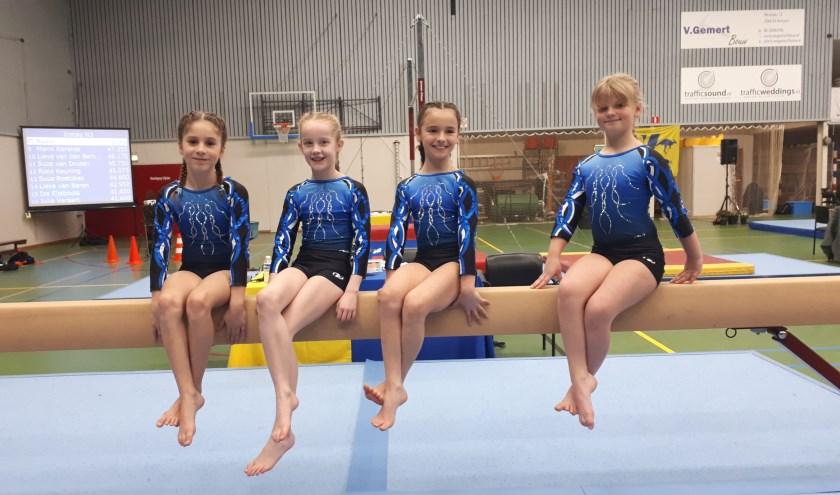 De meiden kunnen zich nu op gaan maken voor de 2e kwalificatiewedstrijd welke gehouden gaat worden op 25 en 26 januari in Valkenswaard.