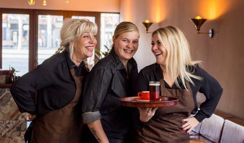 <p>Het team van Brasserie &#39;t Marktzicht. (Foto: Iris van Deursen)</p>