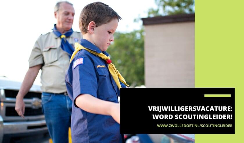 <p>Scoutingvereniging Renatum 57 in Zwolle is op zoek naar nieuwe leiders voor de scouts van 10 tot 16 jaar. </p>