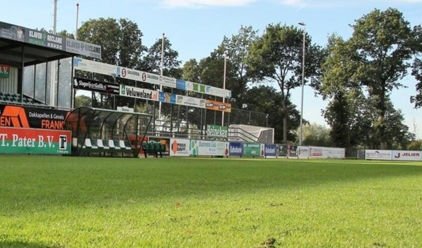 <p>De wedstrijd wordt zaterdag 10 oktober op Sportpark Schenk zonder publiek gespeeld.&nbsp;</p>