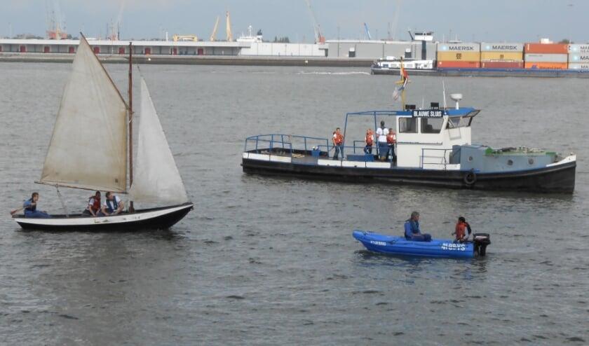 Zeekadetten Rotterdam in aktie