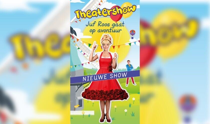 <p>Wegens het overweldigende succes van de eerste theatershow met overal uitverkochte zalen, komt Juf Roos terug naar het theater met een nieuwe voorstelling.</p>