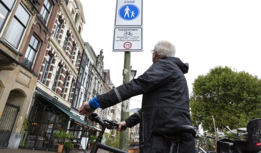 Gedeeltelijk (snor)fietsverbod