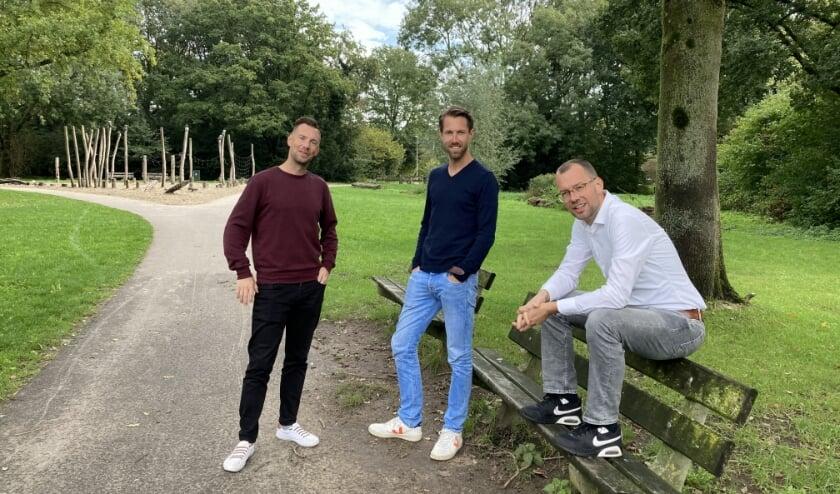 <p>Van links naar rechts: Boaz Keurentjes, Lennert Molema en Paul Keurentjes. (Foto: Roberto Cancian)</p>