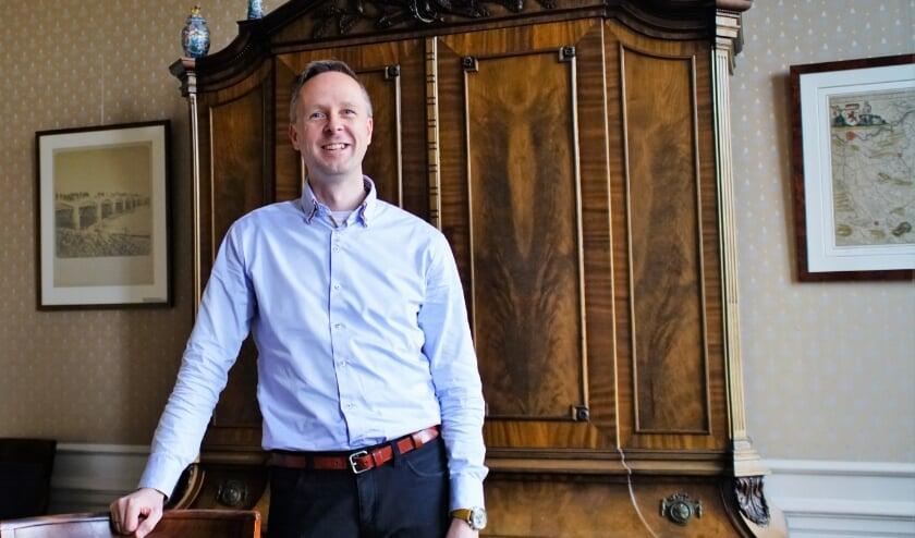 <p>De Zoetermeerse Miguel Delcour is de nieuwe directeur van het bureau van het KIVI. Foto: Robbert Roos</p>