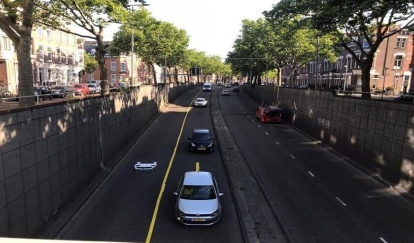 De meest vervuilde autoroute van het land.