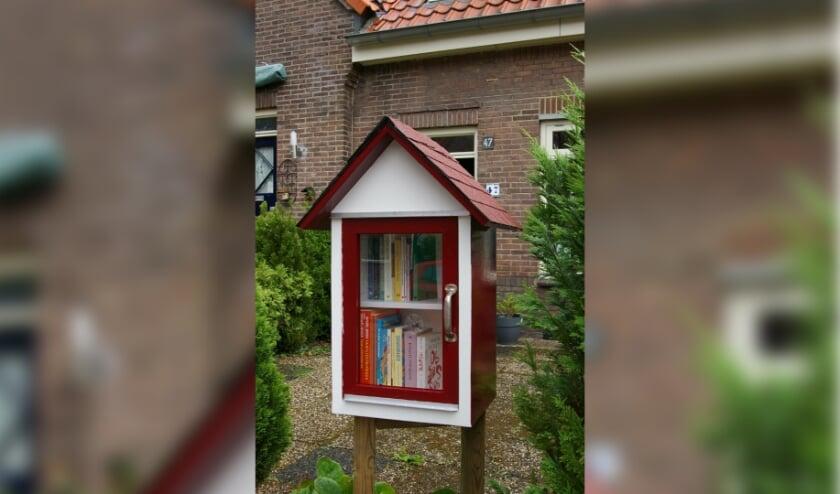 <p>Minibieb in Willemskwartier.</p>