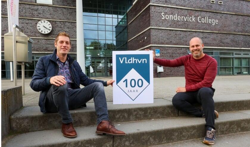 Marc Mantz en rechts Léon Berkers. Perre van Beek was door omstandigheden verhinderd. (Foto: Bert Jansen).