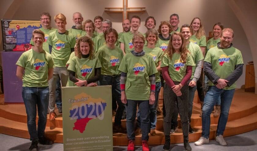 Deelnemers van project 2020 Ecuador van World Servants Doetinchem
